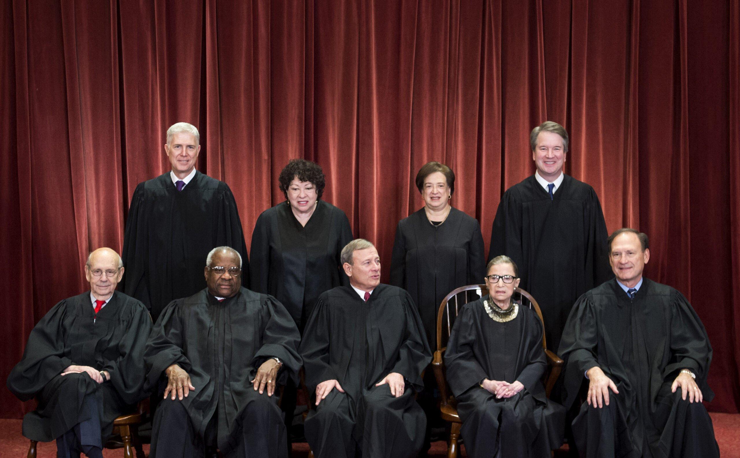 Corte Suprema - Ginsburg - Trump