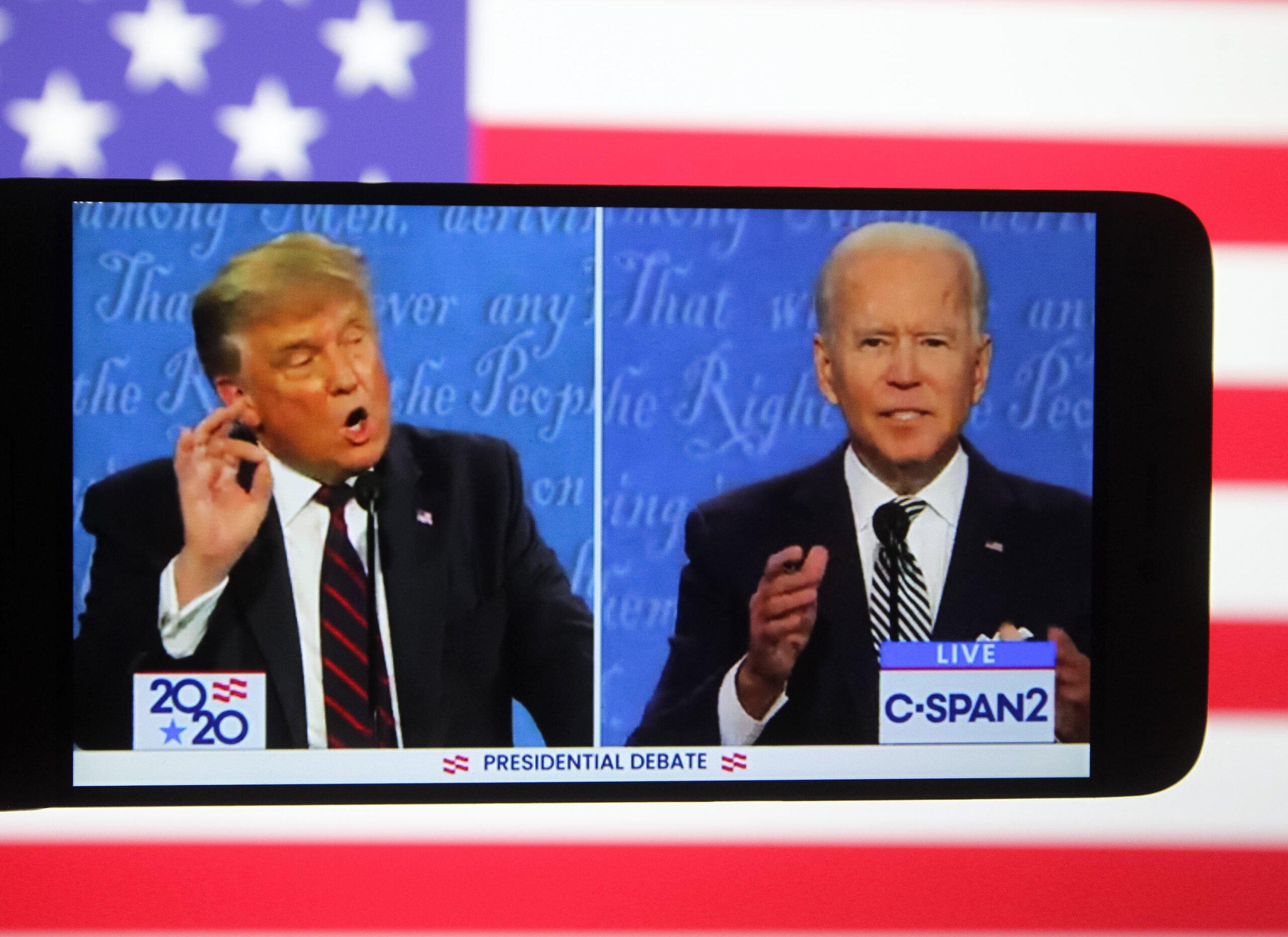 Usa 2020 - dibattito 1 - Trump - Biden - vincitore
