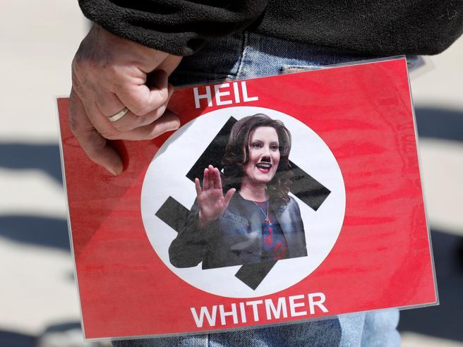 Usa 2020 - 24 - Trump - comizi - Whitmer - rapimento