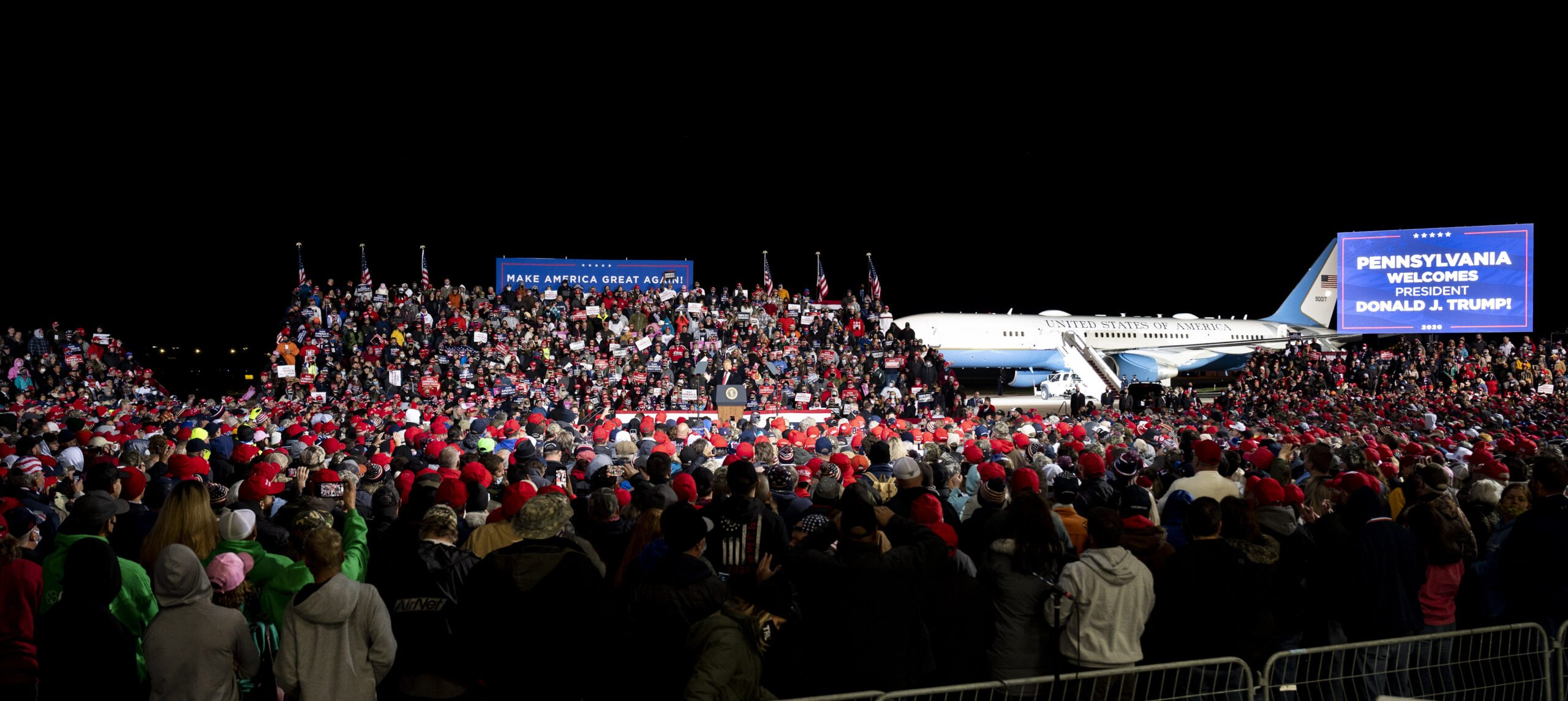 Usa 2020 - Trump - Erie - Melania