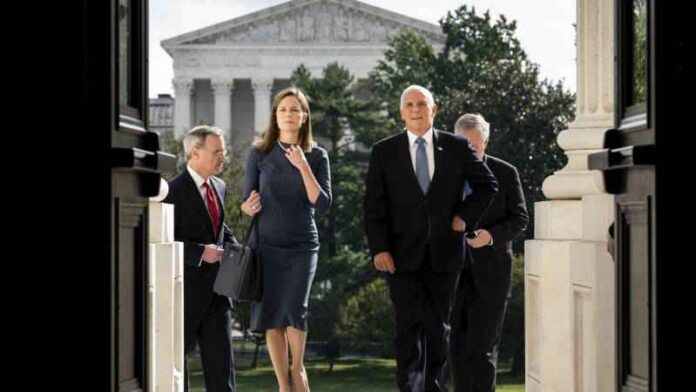 201013 Usa 2020 - Barrett - Senato - trump - immune