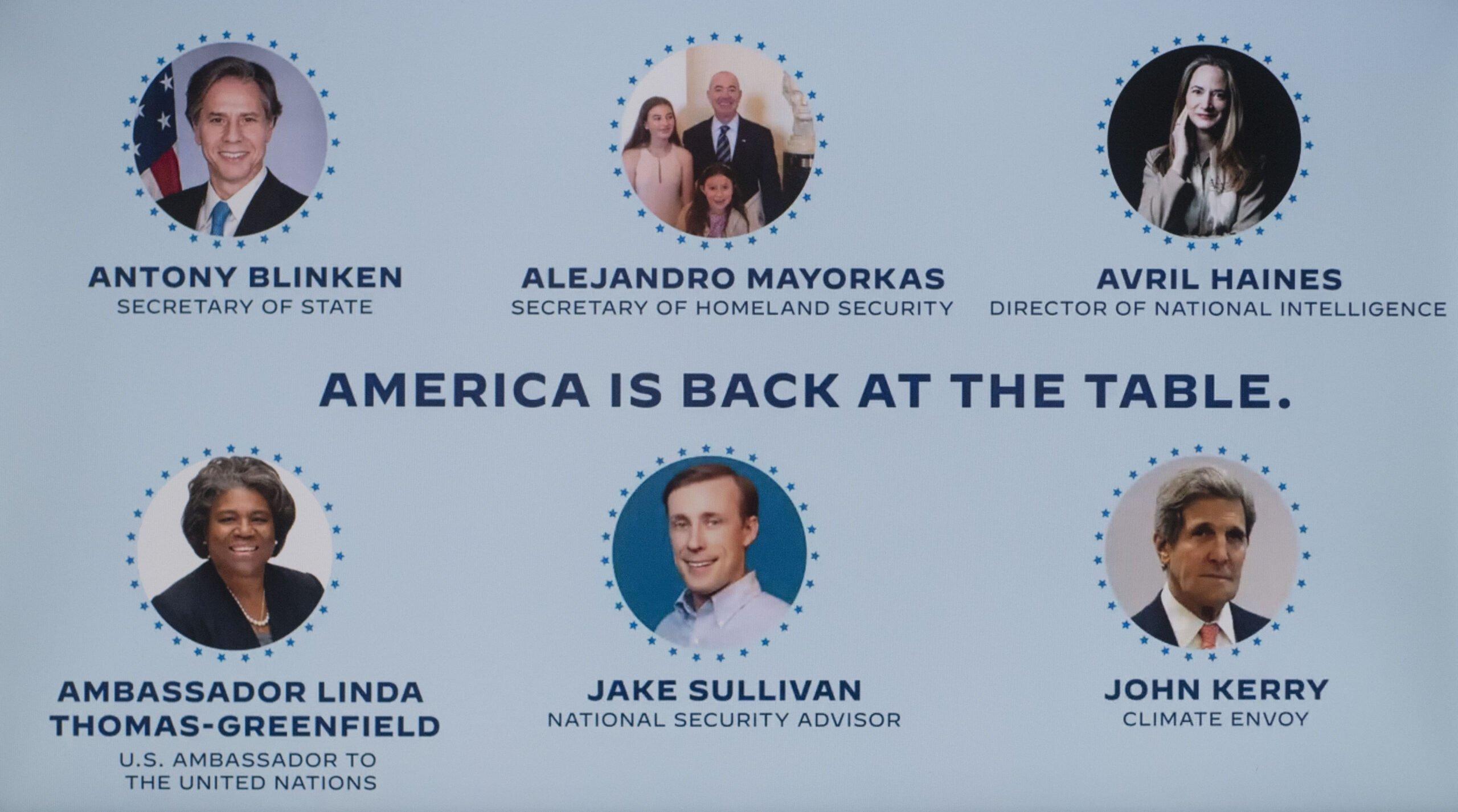Usa 2020 - Biden - establishment