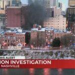 Usa - Nashville - esplosione