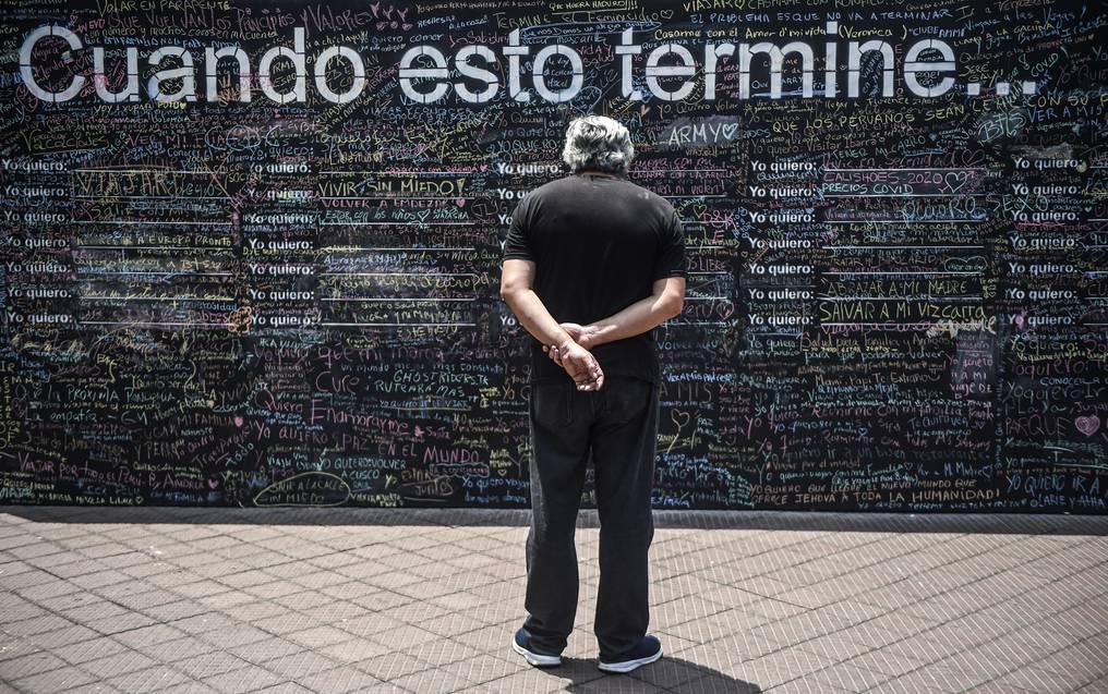 Settimanale - ricaduta - Perù - muro della speranza