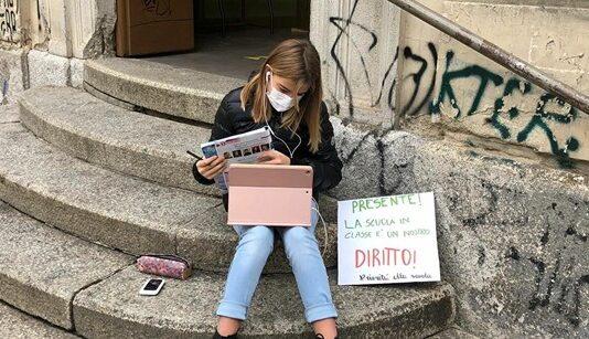 Settimanale - ricaduta - Italia - DAD - Anita