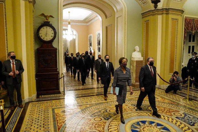 Usa - impeachment - senatori repubblicani