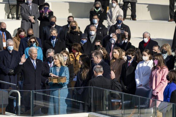 210120 Usa 2020 - Biden - giura - presidente