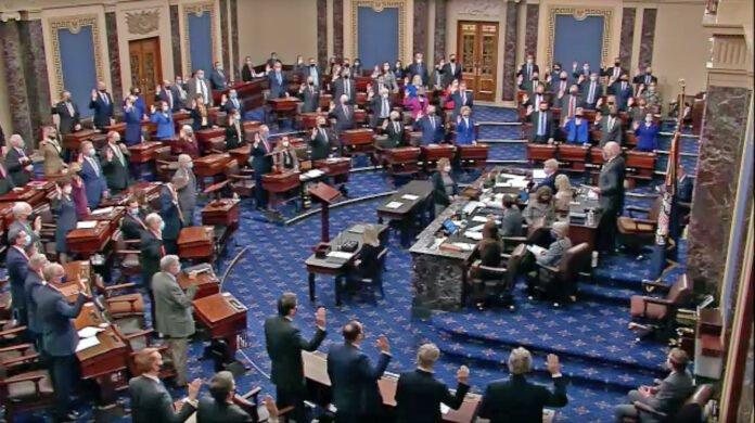 210209 Usa - impeachment - Trump - Senato