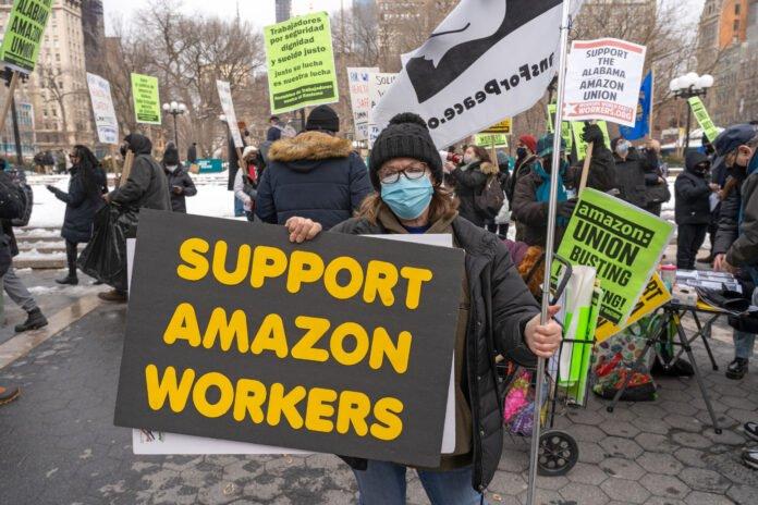210311 Usa - lavoro - sindacati - Bessemer - Amazon