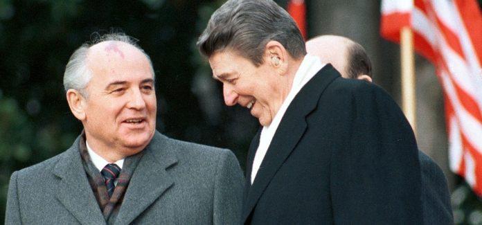210415 incontro - Reagan - gorbaciov