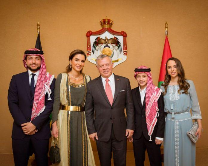 210406 Giordania - Abdallah II - Rania
